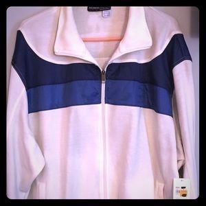 Long Sleeve Zip-Up Sweatshirt